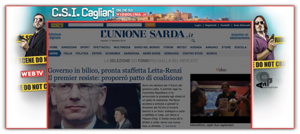 Spazi pubblicitari L'Unione Sarda.it - Skin
