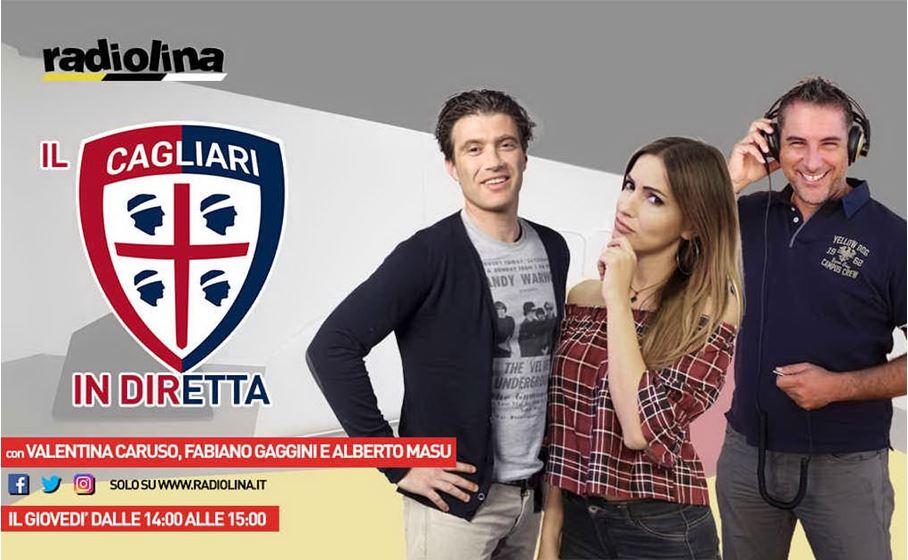 Il Cagliari in Diretta Web ogni giovedì su Radiolina.it e sui canali social di Radiolina