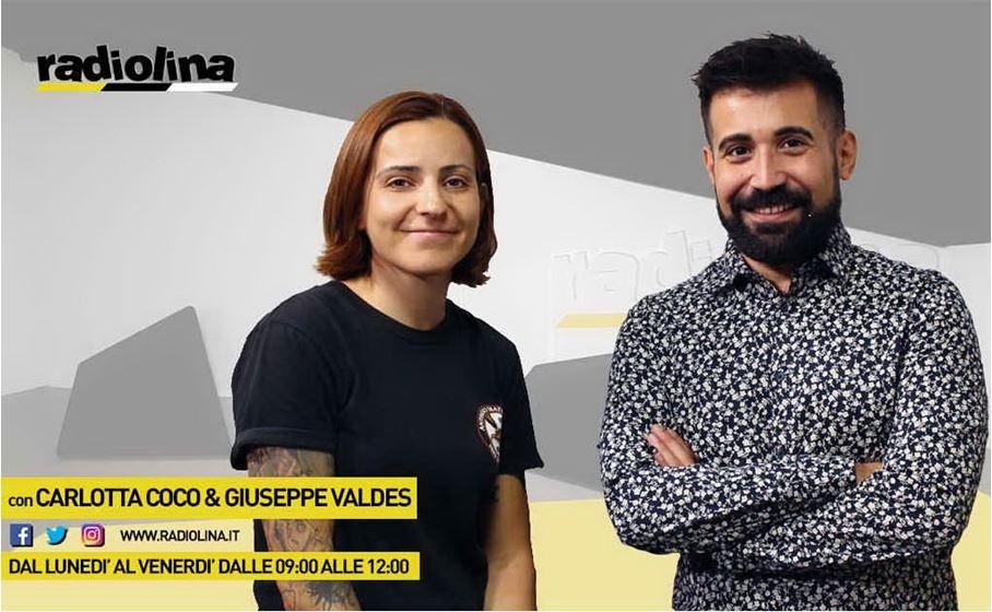 Carlotta Coco e Giuseppe Valdes on air dal lunedì al venerdì su Radiolina