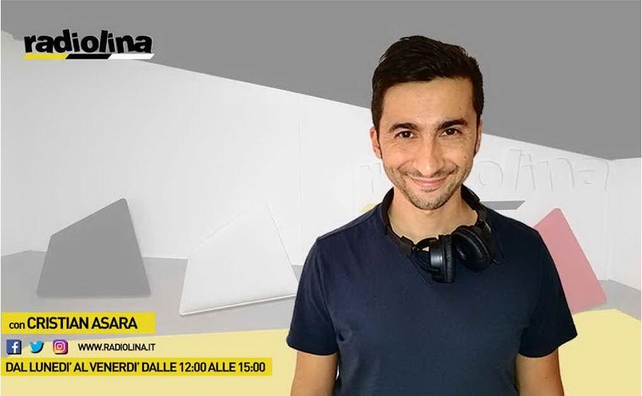 Cristian Asara  on air dal lunedì al sabato su Radiolina, la prima radio in Sardegna
