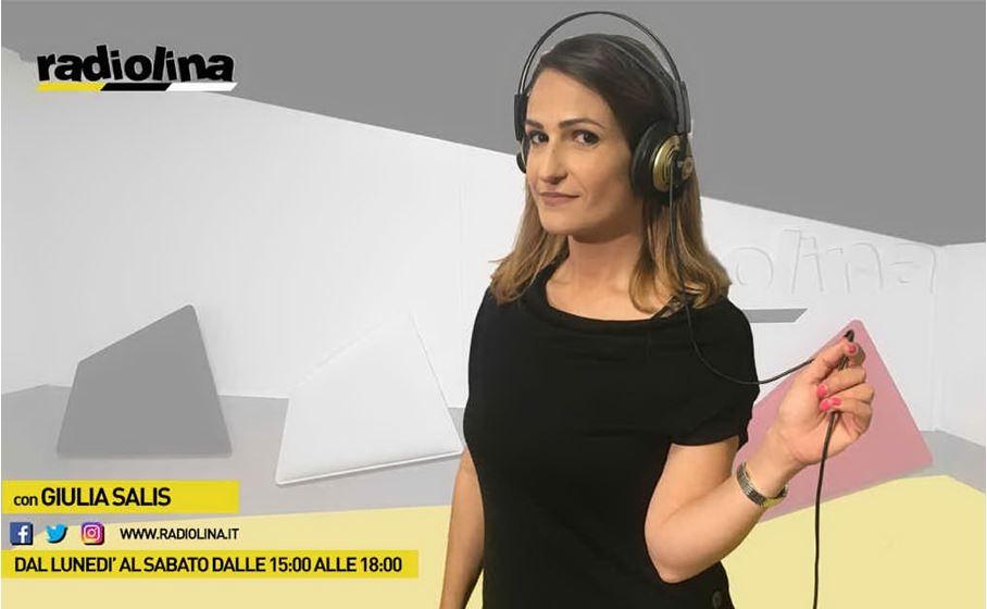 Giulia Salis on air dal lunedì al sabato su Radiolina, la prima radio in Sardegna