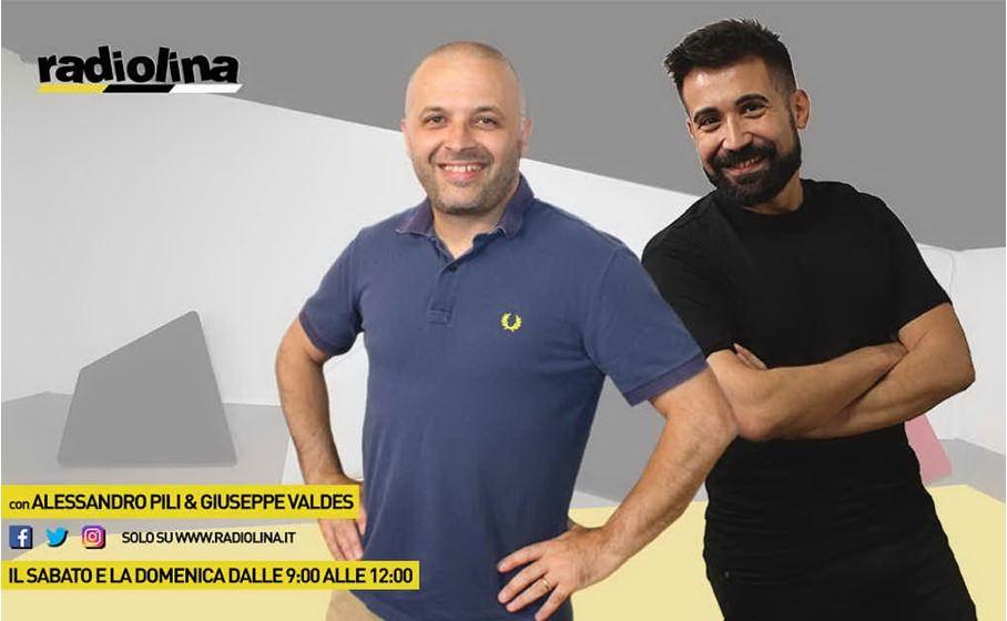 Alessandro Pili e Giuseppe Valdes on air il sabato e la domenica su Radiolina, la radio leader in Sardegna