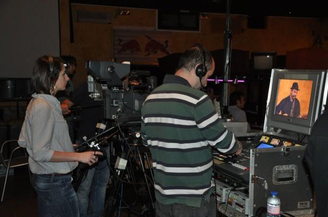 operatori di Tele Costa Smeralda, seconda TV della Sardegna